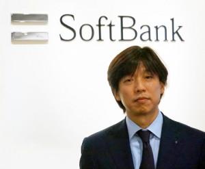 Softbank logo、Mr.Takahashi