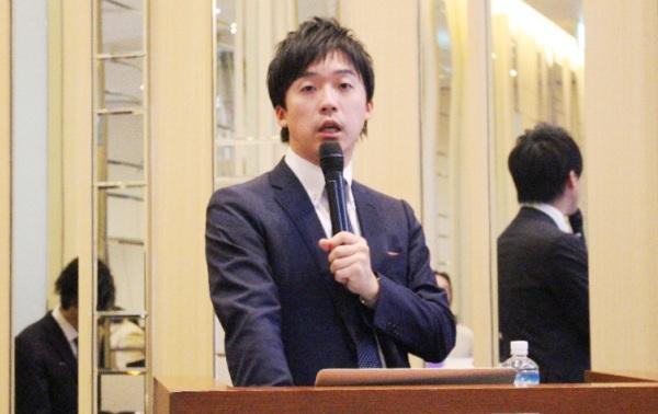 笹本裕貴氏の写真