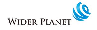 ワイダープラネット ロゴ