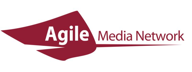 Agile Media Network (AMN) ロゴ