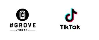 ロゴ:#GROVE、TikTok