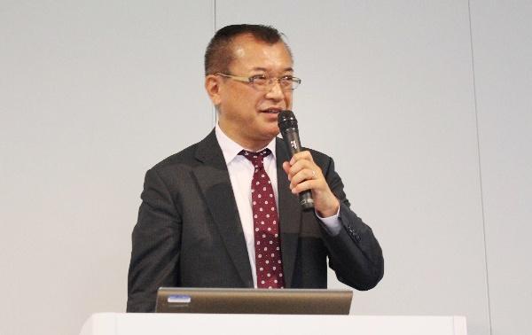 写真1:ボルボ・カー・ジャパン 関口氏