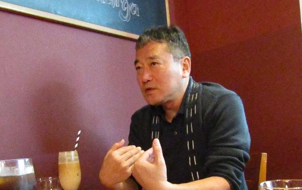 写真2:上野正博氏