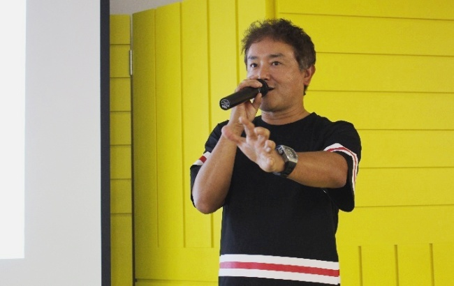 写真3:小野進一氏