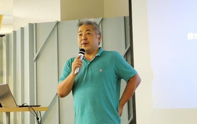 写真4:富永氏