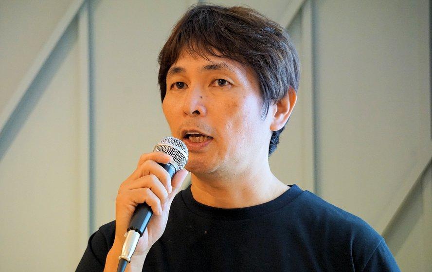 写真3:鈴木 健氏