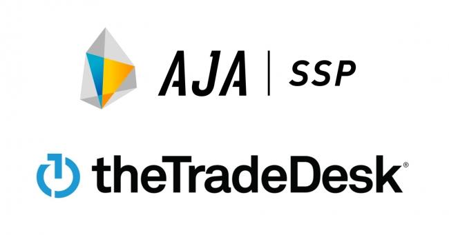 AJA-SSP & the Trade Desk ロゴ