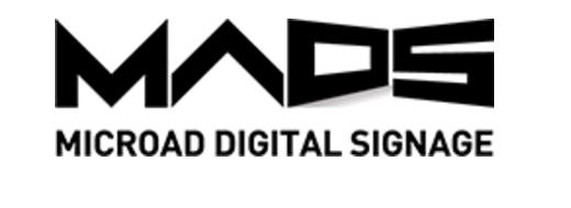 マイクロアドデジタルサイネージ ロゴ