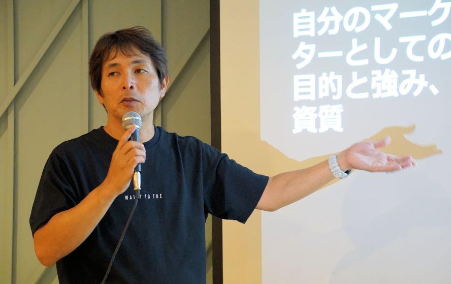 写真1:鈴木 健氏
