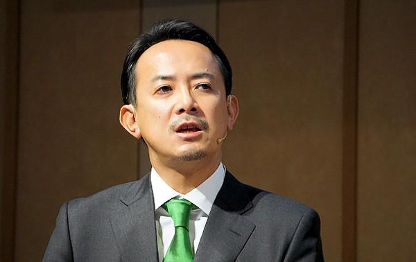 写真2:川邊健太郎氏