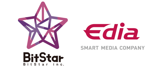 BitStar & Edia ロゴ