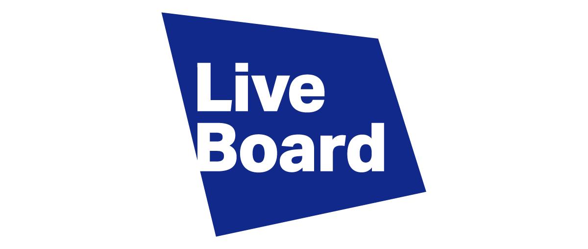 LIVE BOARD ロゴ